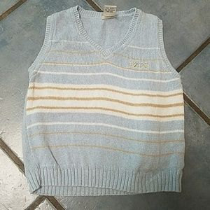 Kids izod sweater vest
